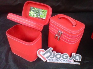 Make Up Case Double Red