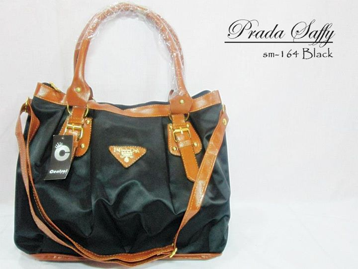 Photo of Tas Wanita Prada Saffy Cantik Black