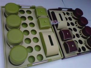 Trayset Praktis Jumbo - Set Tray Toples Vinyl 4in1