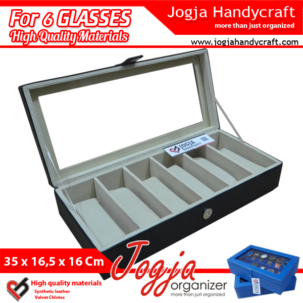 GLASSES BOX ORGANIZER