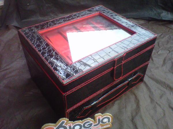Black Coroc Box Jam Tangan Isi 20