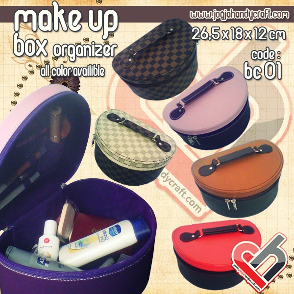 Photo of Cute Cosmetic Box Organizer | Tempat Kosmoetik Cantik Murah