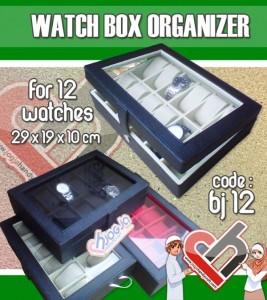 Watch Organizer isi 12