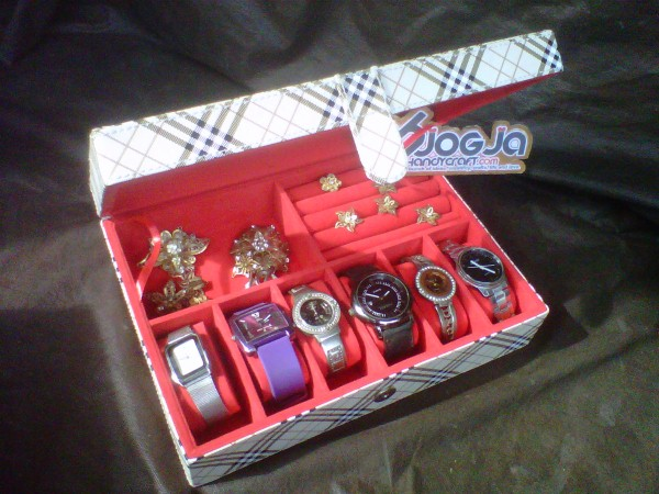 Box 3in1 Vinyl - Watch Mix Jewelry Organizer
