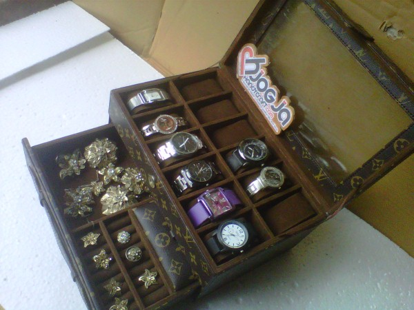 Photo of New Box Jam Tangan Mix Accesories Drawer – Jogja Handycraft