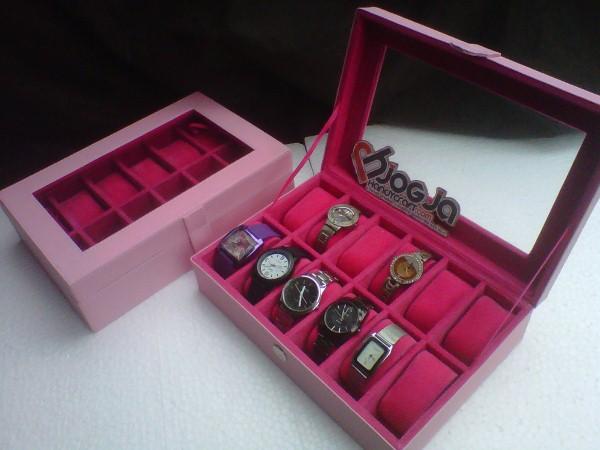 New Box Jam Tangan isi 12 Jogja Handycraft Baby Pink
