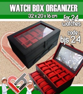 Watch Organizer isi 24