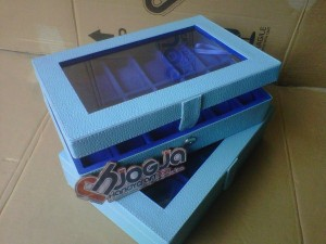 Baby Blue Box Jam Tangan Isi 12