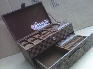 Elegan Watch Box LV Damier Custom By Customer