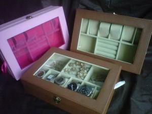 Kotak Jam Tangan Mix Tempat Perhiasan - 3in1 Boxes