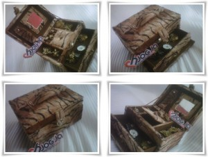 Elegan Jewelry Box Motif Macan
