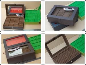 Ring Box Organizer | Kotak Tempat Menyimpan Cincin