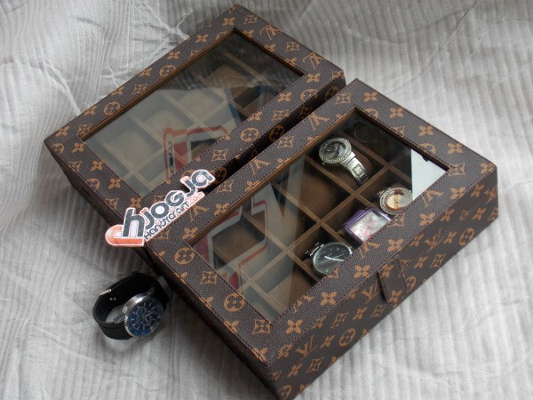 Photo of LV MONOGRAM WATCH BOX ORGANIZER FOR 12 WATCHES