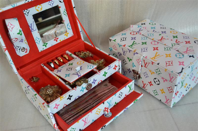 Square Drawer Jewelry Box | Tempat Perhiasan