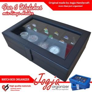 Watch Box Mix Ring Organizer | Kotak Jam Kombinasi Tempat Cincin
