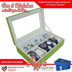 New Watch Box Mix Ring Organizer | Box Jam Kombinasi Tempat Cincin