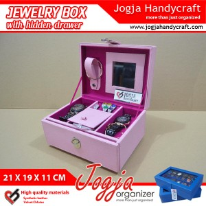 Full Fanta Jewlery Box With Hidden Drawer