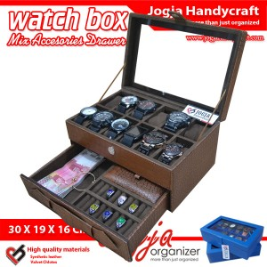 Watch Box Mix Accesories Drawer