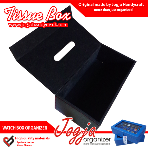 TB01CBL Tissue Box