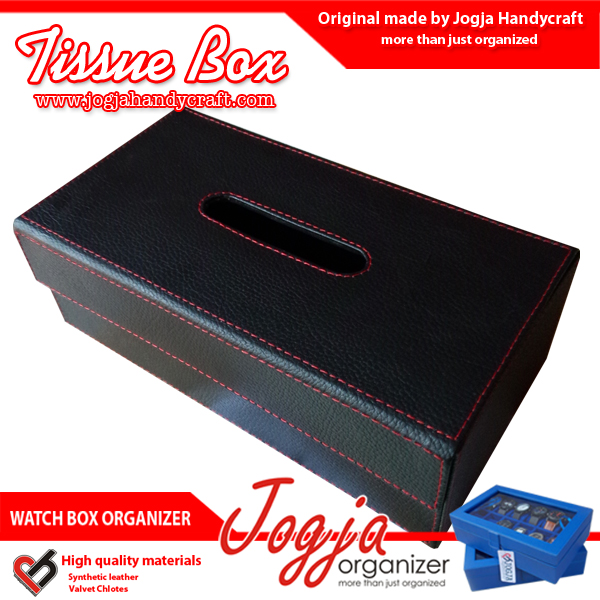 Photo of Tissue Box / Tempat Tissue / Kotak Tissue Unik Dari Kulit Sintetis