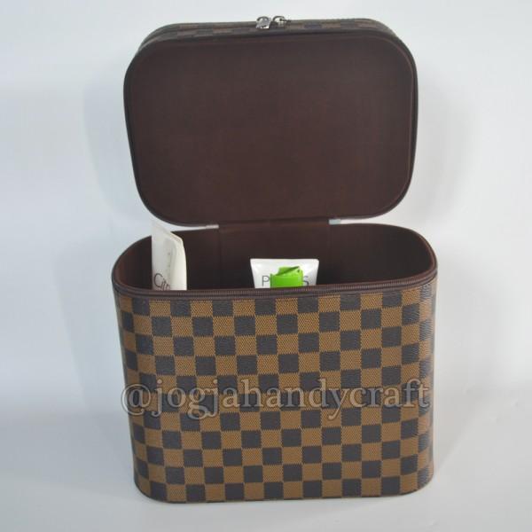 Exclusive JUMBO Size Tas Tempat Kosmetik Damier / Beautycase / Make up Pouch